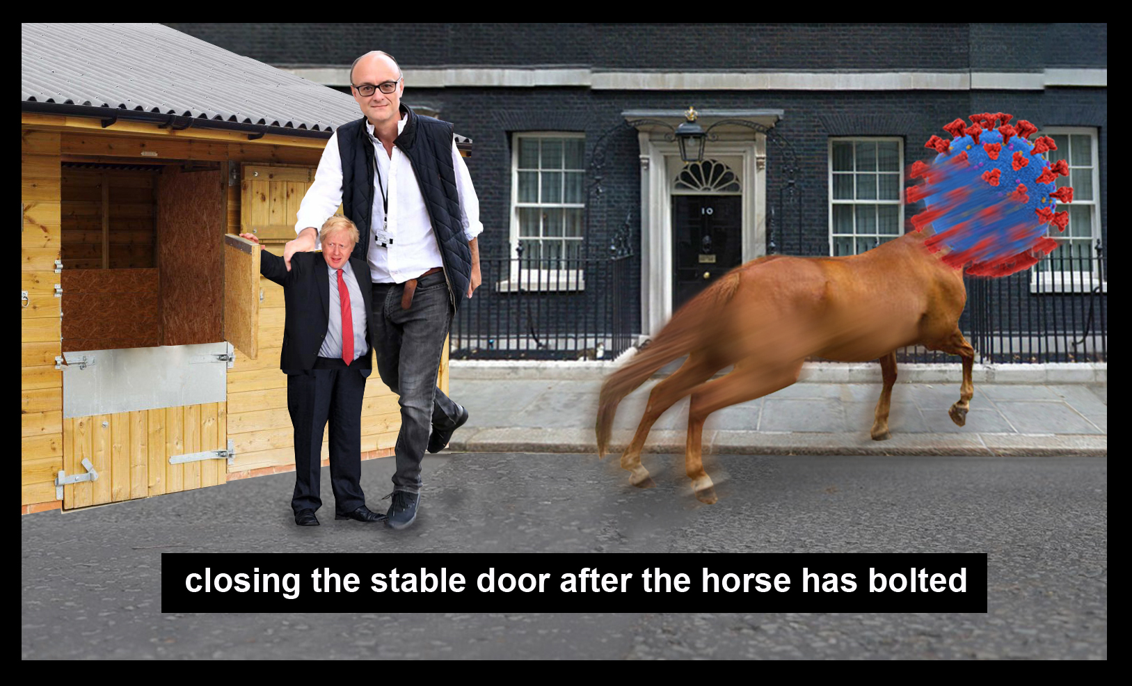 Close the stable door after the horse has bolted; Sam Rutherford