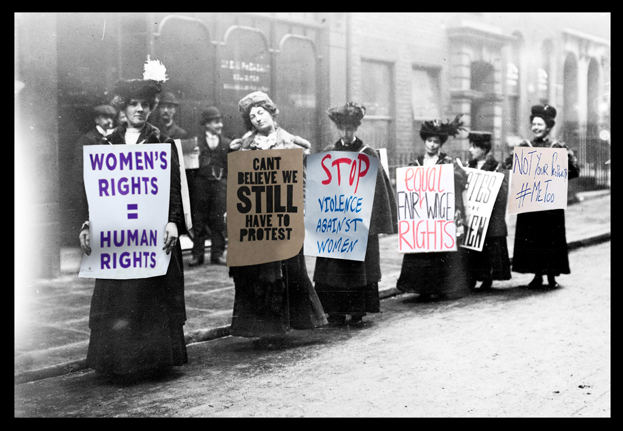 Suffragettes; Sam Rutherford